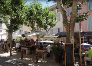 Market place of La Cadière d'Azur