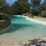 Villa Dourmidou Pool Graduated Walk-in Entry